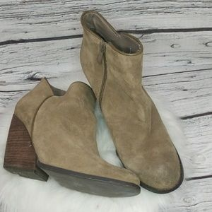 Very Volatile suede leather heeled ankle boots 10